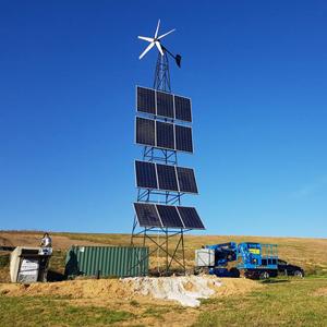 Generator fotovoltaic mobil