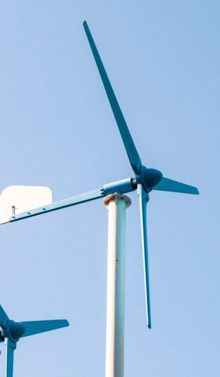 Wind turbine generator, alternative energy source